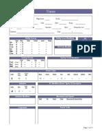 KSD's Auto-Calculating sheet Ver1.3
