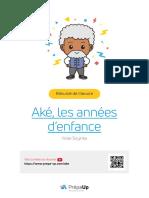 PDF Résumé - Aké, les années d'enfance