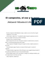 Afanasiev Aleksandr Nikoalevich - El Campesino El Oso Y La Zorra