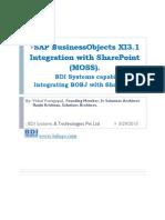 Sharepoint Integration Capability