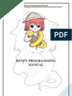 Renpy Programming Manual