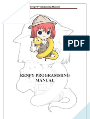 Renpy Programming Manual | Menu | Widget (Gui)