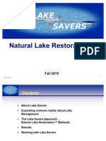 Lake Savers Natural Restoration