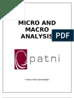 Micro and Macro Analysis Eco