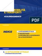 Piano Mobilità e Trasporti - #CalendaSindaco - Roma2021