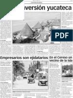 Edición del Diario, publicación sobre Holbox