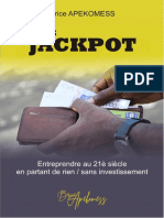 Entreprendre à Zéro franc - Web Jackpot (lu)