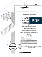 Apollo 9 Onboard Voice Transcription CM Volume 1