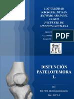 DISFUNCIÓN PATELOFEMORAL