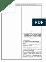 Décret 10-95 Règles économiques pour les droits de raccordement