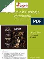 Anatomia e Fisiologia VeterináRia