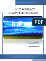 Result Snapshot Infosys Technologies by Www.capitalheight