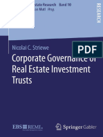 [Essays in Real Estate Research] Nicolai C. Striewe - Corporate Governance of Real Estate Investment Trusts (2016, Gabler Verlag)