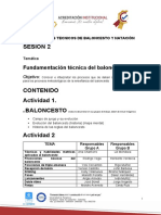ACTIVIDAD 2 FUNDAMENTOS DE BALONCESTO Y NATACION