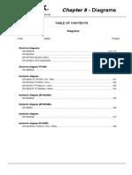 Diagrama Elétrico e Hidráulico Terex