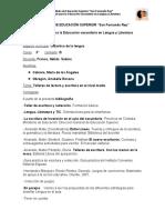 Actividad 1 - Didáctica de la Lengua
