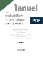 Mini Manuel de Probabilités Et Statistiques 2ed
