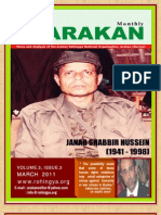 Arakan Journal, March 2011