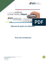 Manual de apoio ao utilizador IMTOnline