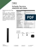 Scheda Tecnica Sandor WS
