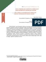 O Letramento Literário no Contexto Curricular Brasileiro