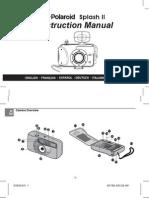 Polaroid Splash II Instruction Manual