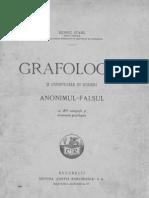 Grafologia şi expertizele în scrieri