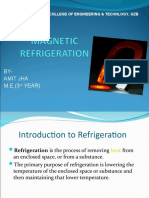 Magnetic Refrigeration