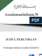 Assalamualaikum,Wr