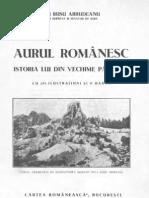 Aurul românesc - Istoria lui din vechime şi până azi