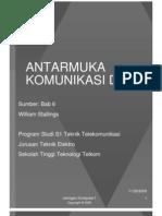 ANTARMUKA KOMUNIKASI DATA