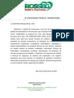 ATESTADO DE CAPACIDADE TÉCNICA - modelo