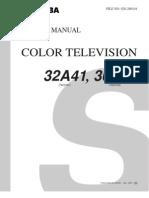 Toshiba 32A41 36A41 N1ES TAC0101 TAC0102 service manual