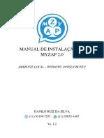 Manual de Instalação Do Myzap 2