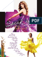 Speak Now - Digital Booklet