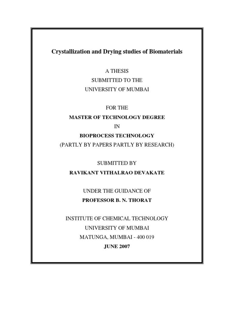 ravi ghadge dissertation