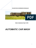 Automatic Car Wash System CONSUMER BEHAVIOUR