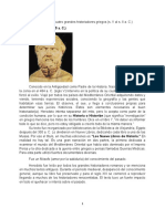Los Cuatro Griegos y Sus Obras.