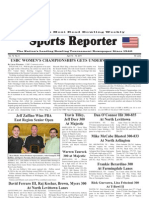 April 13, 2011 Sports Reporter