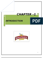 Summer Training report on kingfisher packaged drinking water
