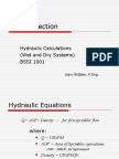 Fire Protection Hydraulic Calculations