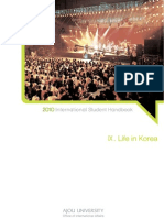 9_Life in Korea