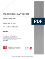 Does Law Have and Outside? *Janet Halley