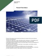 Catalog panouri fotovoltaice