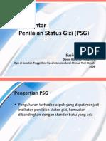 Pengantar Penilaian Status Gizi