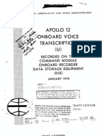 Apollo 12 Onboard Voice Transcription CM