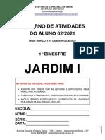 Caderno de Atividades 02.2021 - Jardim i