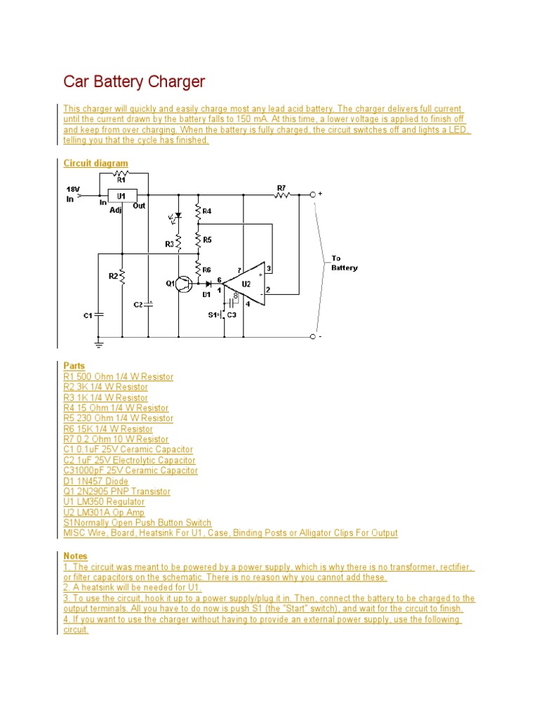 Car Battery Diode Diagram Trusted Wiring Diagrams Wire In Charger Switch
