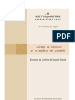 Synthèse du Rapport, 50 ans d'indépendance
