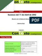 Sucesos Del 11 de Abril de 2002